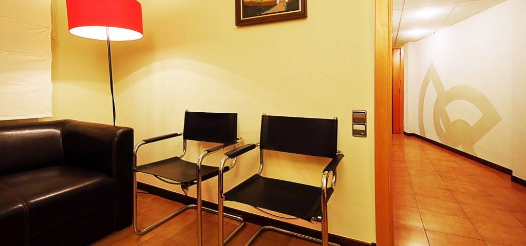 Clínica Dental Guiu sala d'espera